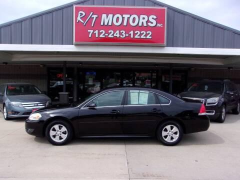 2010 Chevrolet Impala for sale at RT Motors Inc in Atlantic IA