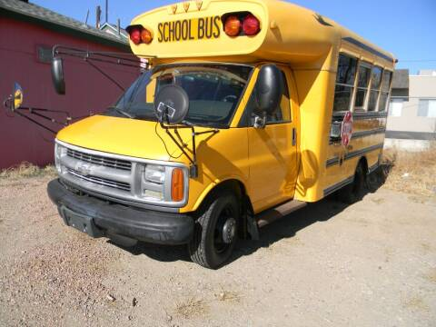 2002 Chevrolet Express Cutaway for sale at Cimino Auto Sales in Fountain CO