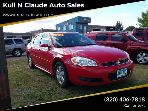 2011 Chevrolet Impala for sale at Kull N Claude Auto Sales in Saint Cloud MN