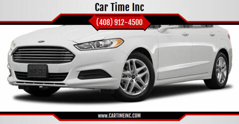 2018 Ford Fusion Hybrid for sale at Car Time Inc in San Jose CA