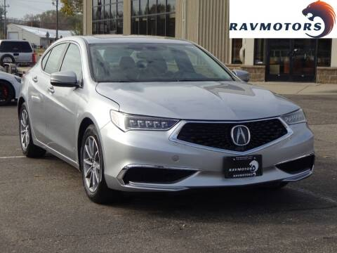 2019 Acura TLX for sale at RAVMOTORS 2 in Crystal MN