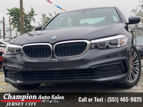 2019 BMW 5 Series for sale at CHAMPION AUTO SALES OF JERSEY CITY in Jersey City NJ
