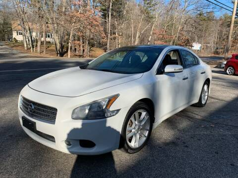 2010 Nissan Maxima for sale at Old Rock Motors in Pelham NH