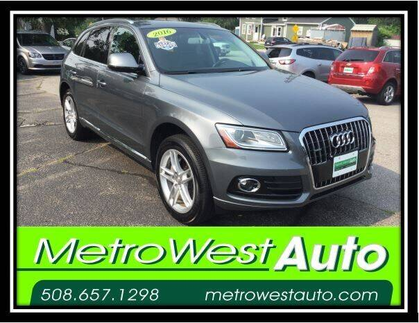 2016 Audi Q5 for sale at Metro West Auto in Bellingham MA