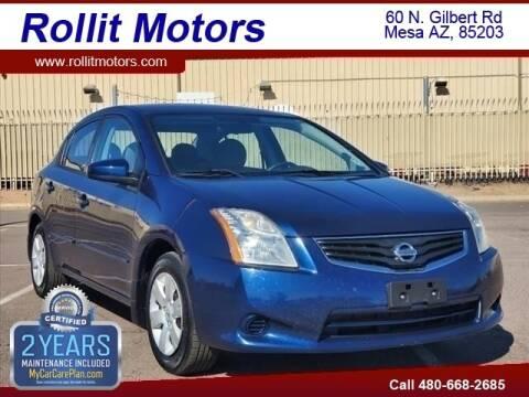 2012 Nissan Sentra for sale at Rollit Motors in Mesa AZ
