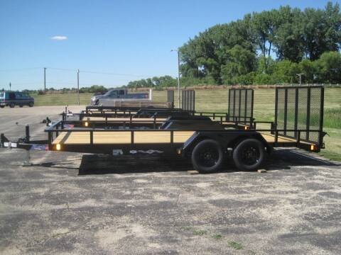 2021 Liberty 83 IN X 18 FT UTILITY TRAILER