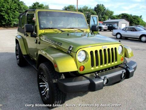 2008 Jeep Wrangler for sale at Gary Simmons Lease - Sales in Mckenzie TN