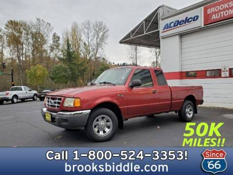 2002 Ford Ranger for sale at BROOKS BIDDLE AUTOMOTIVE in Bothell WA