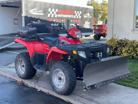 2008 Polaris Sportsman 500 H.O 4x4 for sale at Harper Motorsports-Powersports in Post Falls ID