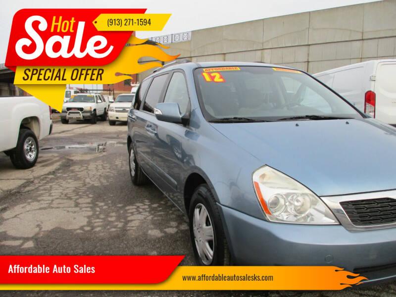 2012 Kia Sedona for sale at Affordable Auto Sales in Olathe KS