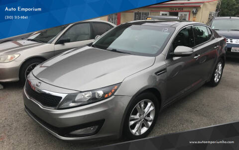 2013 Kia Optima for sale at Auto Emporium in Wilmington CA