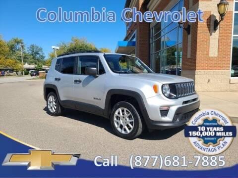 2019 Jeep Renegade for sale at COLUMBIA CHEVROLET in Cincinnati OH