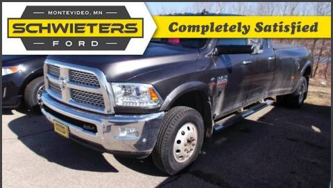 2017 RAM Ram Pickup 3500 for sale at Schwieters Ford of Montevideo in Montevideo MN