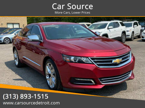 2015 Chevrolet Impala for sale at Car Source in Detroit MI