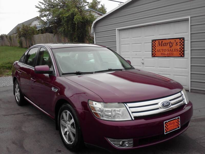 2008 Ford Taurus for sale at Marty's Auto Sales in Lenoir City TN