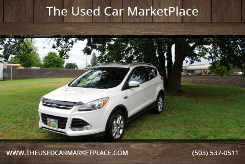 2016 Ford Escape for sale at The Used Car MarketPlace in Newberg OR