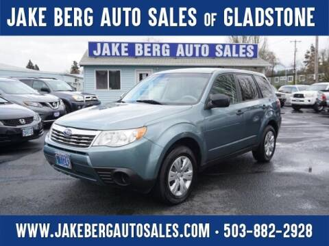2009 Subaru Forester for sale at Jake Berg Auto Sales in Gladstone OR