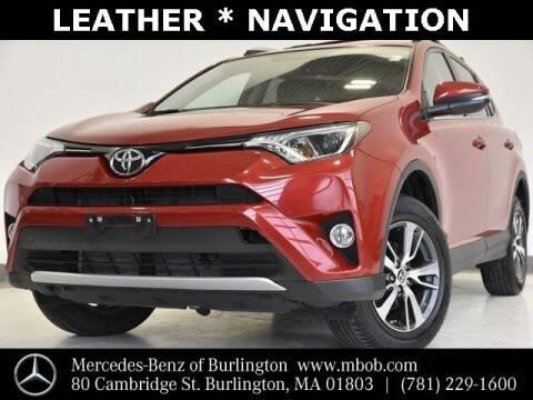 2016 Toyota RAV4 for sale at Mercedes Benz of Burlington in Burlington MA