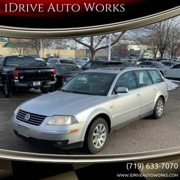 2003 Volkswagen Passat for sale at iDrive Auto Works in Colorado Springs CO