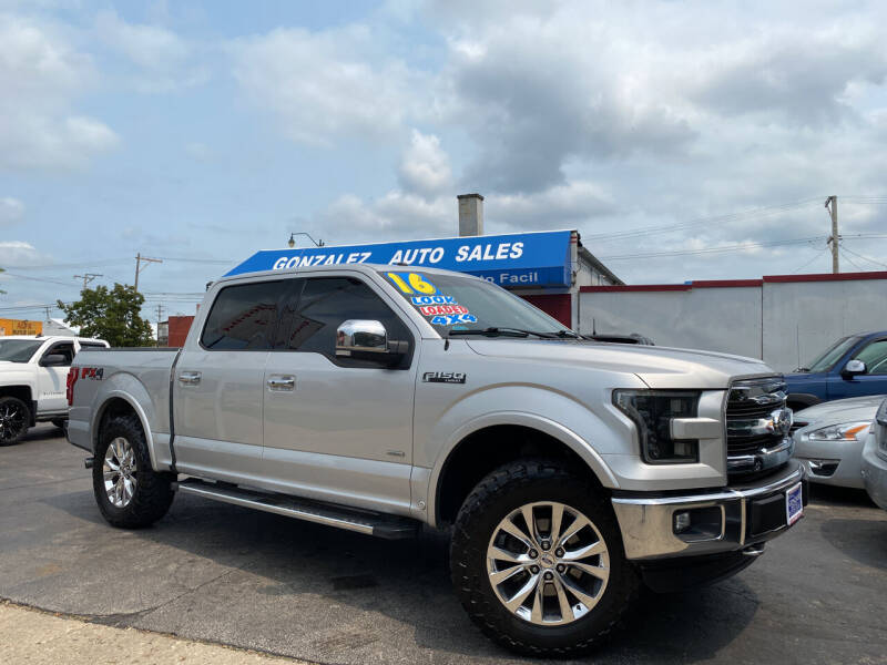 2016 Ford F-150 for sale at Gonzalez Auto Sales in Joliet IL