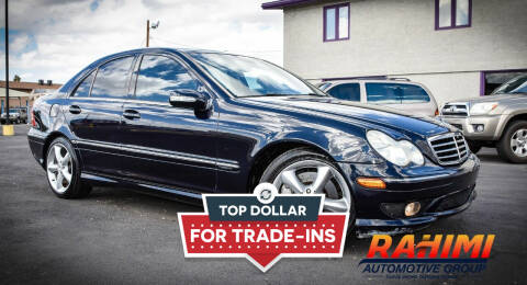 2005 Mercedes-Benz C-Class for sale at Rahimi Automotive Group in Yuma AZ