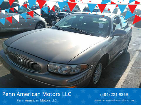 2002 Buick LeSabre for sale at Penn American Motors LLC in Allentown PA