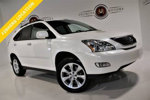 2009 Lexus RX 350 for sale at Unlimited Motors in Fishers IN