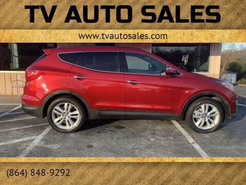 2013 Hyundai Santa Fe Sport for sale at TV Auto Sales in Greer SC