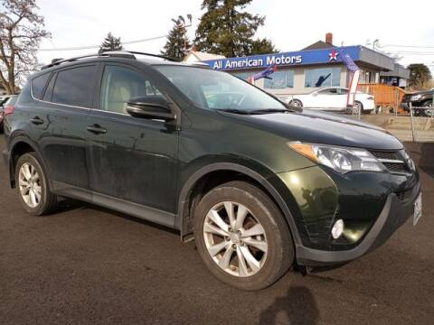 2013 Toyota RAV4 for sale at All American Motors in Tacoma WA