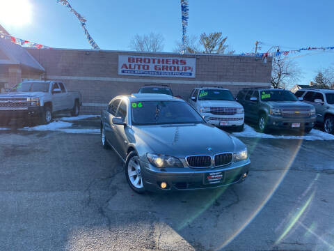 2006 BMW 7 Series for sale at Brothers Auto Group in Youngstown OH