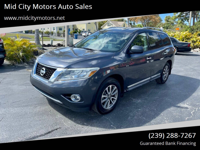 2013 Nissan Pathfinder for sale at Mid City Motors Auto Sales in Fort Myers FL