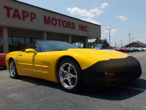 2003 Chevrolet Corvette for sale at TAPP MOTORS INC in Owensboro KY