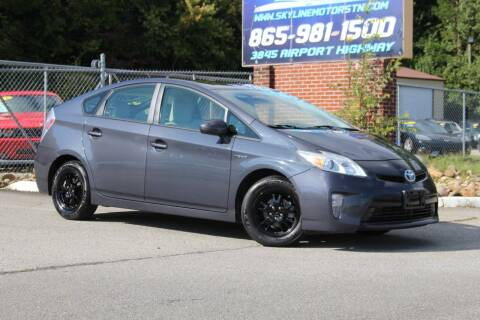 2012 Toyota Prius for sale at Skyline Motors in Louisville TN