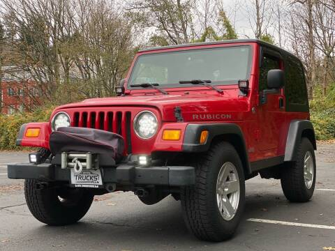 2006 Jeep Wrangler for sale at Trucks Plus in Seattle WA