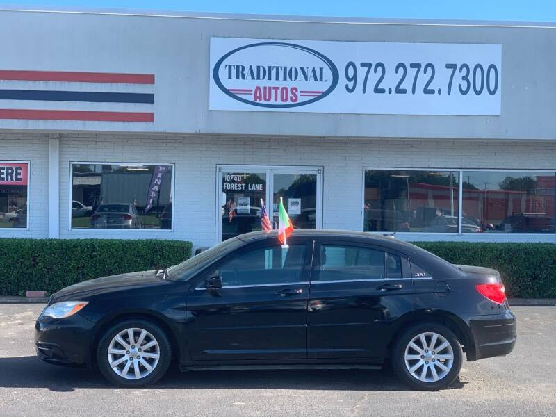 2011 Chrysler 200 for sale at Traditional Autos in Dallas TX