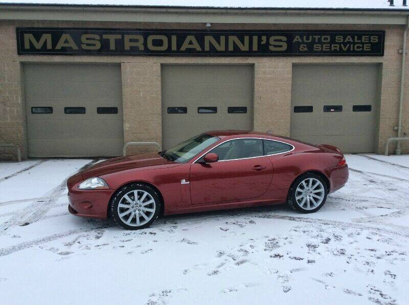 2008 Jaguar XK-Series for sale at Mastroianni Auto Sales in Palmer MA