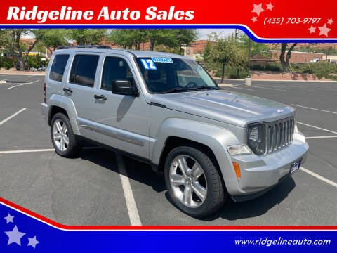 2012 Jeep Liberty for sale at Ridgeline Auto Sales in Saint George UT