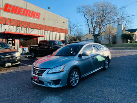 2014 Nissan Sentra for sale at Chema's Autos & Tires in Tyler TX