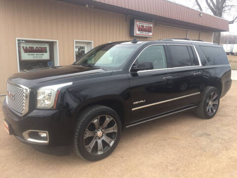 2016 GMC Yukon XL for sale at Palmer Welcome Auto in New Prague MN