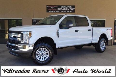 2018 Ford F-250 Super Duty for sale at Brandon Reeves Auto World in Monroe NC