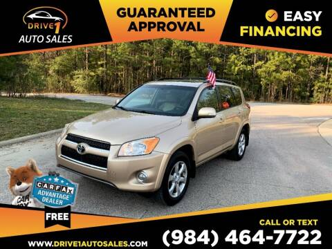 2009 Toyota RAV4 for sale at Drive 1 Auto Sales in Wake Forest NC