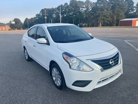 2015 Nissan Versa for sale at Carprime Outlet LLC in Angier NC