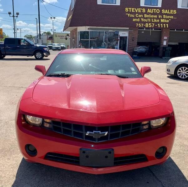 2012 Chevrolet Camaro for sale at Steve's Auto Sales in Norfolk VA
