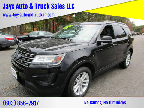 2016 Ford Explorer for sale at Jays Auto & Truck Sales LLC in Loudon NH