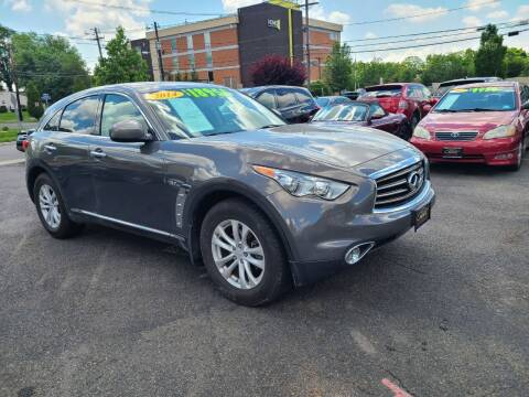 2014 Infiniti QX70 for sale at Costas Auto Gallery in Rahway NJ