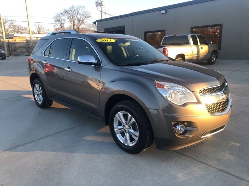 2011 Chevrolet Equinox for sale at Tigerland Motors in Sedalia MO
