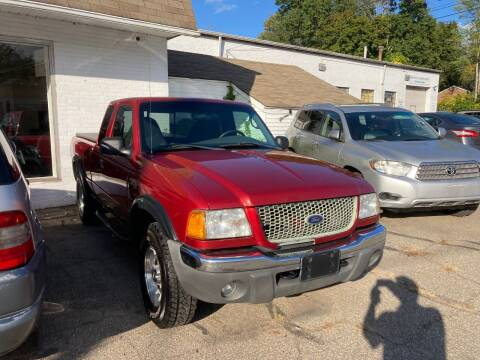 2003 Ford Ranger for sale at ENFIELD STREET AUTO SALES in Enfield CT