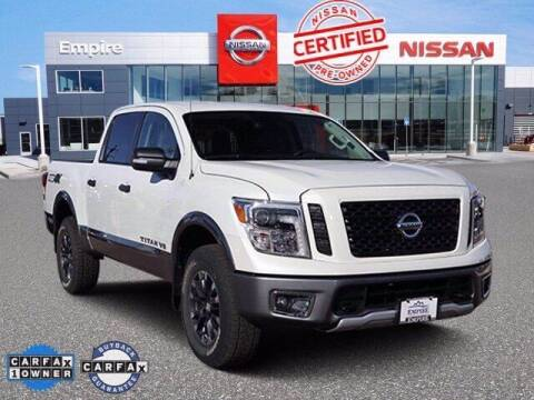 2018 Nissan Titan for sale at EMPIRE LAKEWOOD NISSAN in Lakewood CO