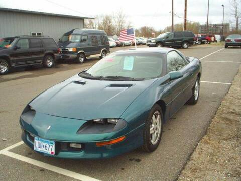 1997 Chevrolet Camaro for sale at Dales Auto Sales in Hutchinson MN