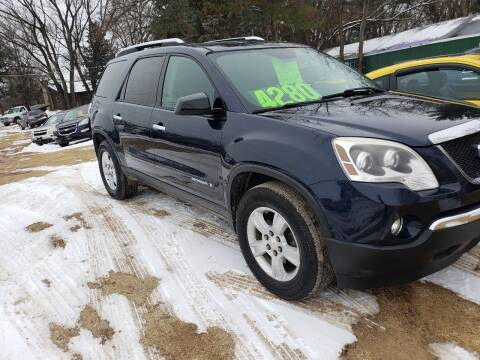 2007 GMC Acadia for sale at Northwoods Auto & Truck Sales in Machesney Park IL